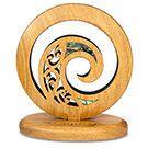 New Zealand Rimu Freestanding Koru Carving Maori Patterns, Celtic Patterns, Polynesian Art, Polynesian Tattoos, Spiral Tattoos, New Zealand Tattoo, Trophy Design, Maori Designs, Nz Art