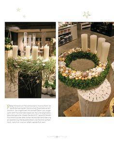 Floristische Advent-Ausstellungen Deutschland & Niederlande, Auszug aus 208 Seiten, Format 24 x 29,7 cm, in deutscher Sprache und mit englischen Texten, Hardcover, ISBN 978-3-945429-86-0, www.blooms.de/advent-emotion