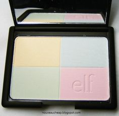 e.l.f. Studio Tone Correcting Powder in Cool - I just bought this and I have to agree with the review. It did help set my make up but not much for tone correcting I still like it though