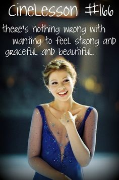 CineLesson - Ice princess There's nothing wrong with wanting to feel strong and graceful and beautiful