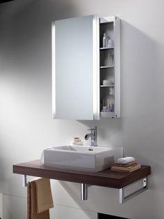 Scneider Slideline Mirror Cabinet