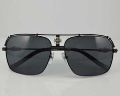 ba622f9c0c1 2013 New Style Chrome Hearts Black Kufannawi I MBK Sunglasses