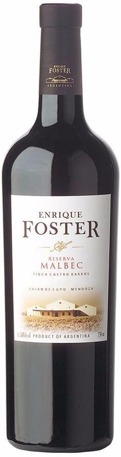 """""""Enrique Foster Finca Castro Barros"""" Malbec 2011 - Bodega Enrique Foster, Luján de Cuyo, Mendoza------------------Terroir: Carrodilla----------Crianza: 12 meses en barricas de roble francés"""