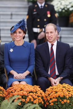 Catherine, Duchess of Cambridge and Prince William, Duke of Cambridge attend the Official Welcome Ceremony for the Royal Tour at the British Columbia Legislature on September 24, 2016 in Victoria, Canada.