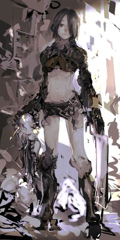 Kai Fine Art is an art website, shows painting and illustration works all over the world. Female Character Design, Character Design Inspiration, Character Concept, Character Art, Concept Art, Art And Illustration, Character Illustration, Manga Art, Manga Anime