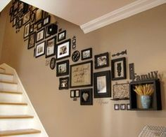 what a great way to display your memories