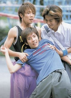 "japanesedrama: "" Behind and in front of the scenes of Stand Up! Ninomiya Kazunari, Japan Art, Stand Up, Boy Bands, Sexy, Acting, Idol, Japanese, Couple Photos"