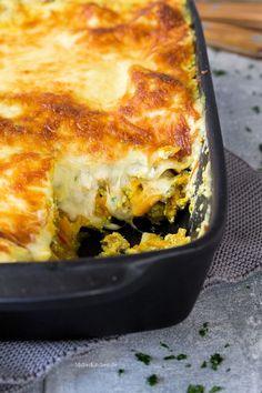 Leckere Lasagne mit Hokkaido-Kürbis und Salsiccia mit Fenchel. | malteskitchen.de