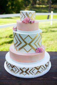Vintage Gold Blush Wedding Cake Wedding Watters Http Www
