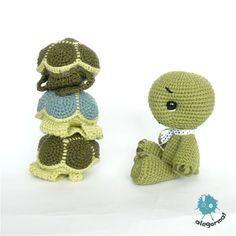 www.alegorma.com #amigurumi #crochettoy #szydelko #zabawkarstwo #naszydelku #turtle