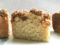 Gluten Free Classic Coffee Cake   Shared by Klippy   #NutFree #GlutenFree #DairyFree #SoyFree #Vegetarian #PeanutFree Nut Free, Dairy Free, Gluten Free Desserts, Easter Recipes, Coffee Cake, Glutenfree, Banana Bread, Brunch, Vegetarian