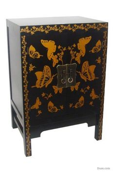 Gold Butterfly Cabinet: For sale at www.DUSX.com