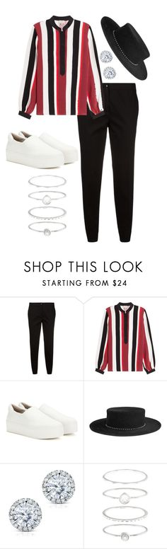 """Striped Heart"" by yoshicutie on Polyvore featuring Etro, Zeus+Dione, Opening Ceremony, Eugenia Kim, Kobelli and Accessorize"