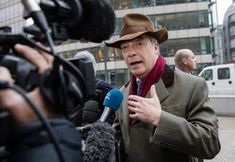 Views in news: Brexit champion Farage considers starting a new pa...