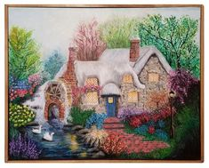 Cottage Acrylic on Canvas