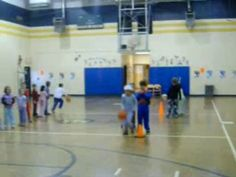 Basketball shooting adapted so all elementary skill levels can score a basket. Basketball Shooting, Basketball Games, Basketball Court, Sports, Basketball Plays, Hs Sports, Sport