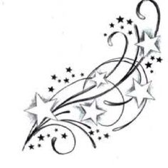 I want this added on to my star tattoo.