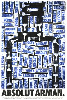 Absolut Art - Arman