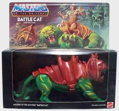 Battle Cat - Fighting Tiger.  I think Skeletor's panther was my favorite toy because he was purple and fuzzy, but still badass.