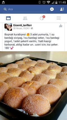 Nefis Yemek Tarifleri Sandviç – The Most Practical and Easy Recipes Bread And Pastries, Biscuit Cookies, Arabic Food, Turkish Recipes, Creative Food, Cookie Recipes, Paleo, Food And Drink, Yummy Food