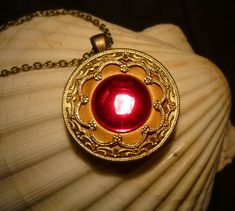 The Secret of NIMH Magic Amulet handmade Necklace by MiraCrafts