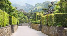 Kagoshima - Satsuma Peninsula Travel: Chiran Samurai District. Small town with a preserved samurai district dating back 250 years old