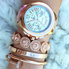 Rose Gold Kandy Set by Princess P