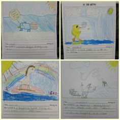Sunny Days in Second Grade: Show and Tell Tuesday - Book Share!  & Free writing idea