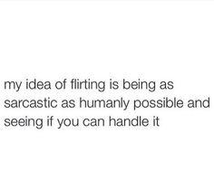 do guys find sarcasm attractive