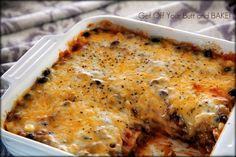 Cheesy Enchilada Casserole--made this tonight, and it turned out great!  Easy to put together, and it tastes great.