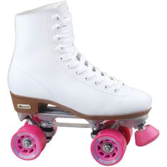 Roll out in style with these Roller Derby Candi Girl Carlin quad skates, featuring fresh eye-catching colors you'll lov Chicago Roller Skates, Quad Roller Skates, Roller Derby, Roller Rink, White Roller Skates, Roller Disco, Skating Rink, Roller Skating, Nike 2017