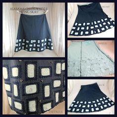 Alabama Chanin Style Swing Skirt | Craftsy