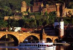 Heidleburg, Germany - I LOVE this city and old castle!!