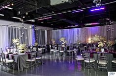 Purple and Silver Wedding  #Weddings | Heaven Event Center |