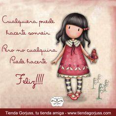 Cualquiera puede hacerte sonreír. :) :) :) :) Pero no cualquiera puede hacerte Feliz!!!!  #FelizDomingo #Gorjuss #FrasesGorjuss
