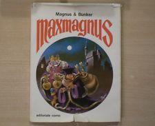 MAX MAGNUS - Magnus & Bunker - Editoriale Corno 1970