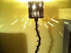 Artes e Badulaques: Luminária com Lata