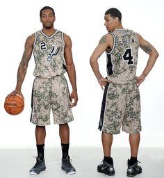 San Antonio Spurs Unveil New Military-Inspired Uniforms