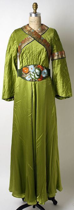 Evening dress Thea Porter (British, Jerusalem 1927–2000 London) Date: fall/winter 1972–73 Culture: British Medium: silk Dimensions: [no dime...