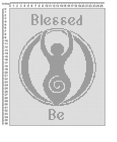 pagan. Oh I will so be cross stitching this!