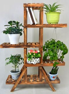 jpg 387 x 527 - Wood Design House Plants Decor, Plant Decor, Woodworking Projects That Sell, Diy Woodworking, Dream House Interior, Home Interior Design, Wooden Plant Stands, Pallet Crafts, Plant Shelves