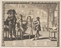 ch 9 The Painter, Abraham Bosse (French, Tours 1602/1604–1676 Paris), Etching; first state of two