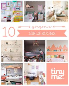 10 Gorgeous Girls Rooms ~ Tinyme