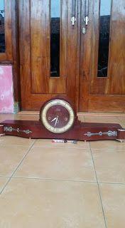 antiQue Bekasi: table clock antique rermle schwebeangker FHS jumbo...