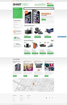 Shopify Theme , Smart Gear