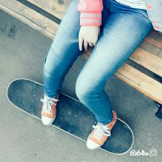Старый скейт