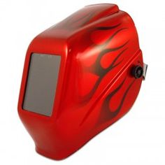 Jackson Halo X Red Flame Shade 10 Welding Helmet