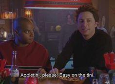 Scrubs, JD orders an Appletini