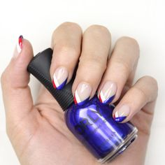 Step-By-Step: Memorial Day Mani From Orly