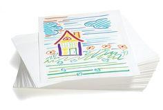 """White Sulphite Paper - 500 Sheets (Easel Paper)  #12SU White Sulphite Paper - 12"""" x 18"""", 50 lb. $19.49"""